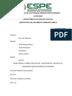 PENDULO informe