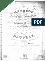Dauprat, Methode de Cor Alto Et Cor basse (3rd Part)