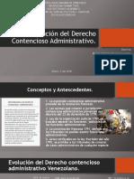Evolucion Del Derecho Contencioso Administrativo
