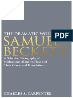 The Dramatic Works of Samuel Beckett