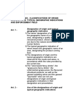 Doc e Docg Legislation