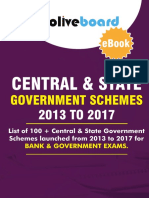 Government Schemes 2013-17