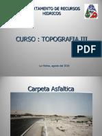 Topografia III Introduccion