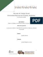 Candela Cabrera-La Escuela en La Fábrica