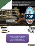 Prescripción Adquisitiva