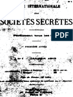 Revue Internationale Des Societes Secretes v1 n1 1912 Jan