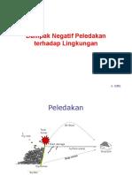 13. Dampak Negatif Peledakan (Lingkungan)