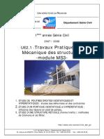 Page de Garde TP MS3 Laboratoire Materiaux