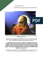 Biserica Catolica a MODIFICAT Rugaciunea TATAL NOSTRU