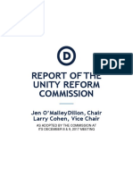 DNC Unity Reform Commission Report
