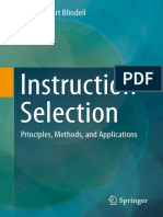 Gabriel Hjort Blindell (Auth.)-Instruction Selection_ Principles, Methods, And Applications-Springer International Publishing (2016)