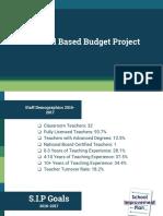 budget presentation 12