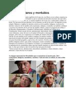 Afro Ecuatorianos y Montubios