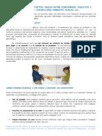Resolucion de Conflitos -Peleas Entre Compañeros, Insultos, Amenazas