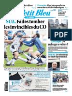 Journal Le Petit Bleu Agen Du 06 Janvier 2018