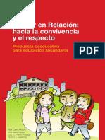 Educar en Relación -Hacia La Convivencia y El Respeto IIIIMPORTA