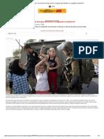 De Punho Em Riste Quem é a Garota Que Desafiou a Ocupação Israelense