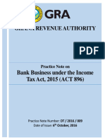 Practice Note on Bank Business