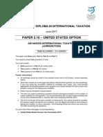 June 2017 Paper 2.10 (Question Paper)