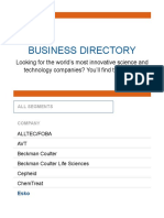 Business Directory _ Danaher