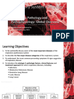 RespPath Lect 2_Respiratory Pathology and Pathophysiology Global Overview