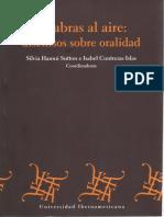 Alántara Mejía José Ramón-2013-Entre La Palabra y La Escritura-una Poetica Teatral de La Oralidad