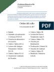 2017-12-31 - Orden Del Culto