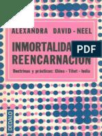 Inmortalidad y Reencarnacion - Alexandra David-Neel