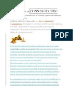 DEFINICIÓN DECONSTRUCCIÓN