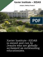 XIDAS Presentation
