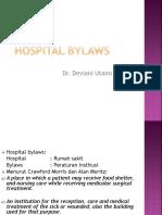104323 Hospital Bylaws