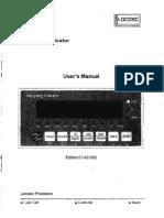 LOADMASTER Se7510 Users Manual