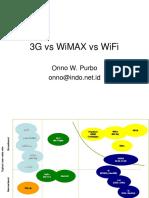 Wimax vs Wifi vs 3G