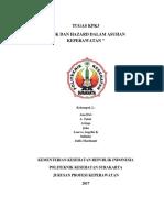 Tugas Manajemen Hazard Dan Risk Dalam Asuhan Keperawatan Kel 2 Revisi