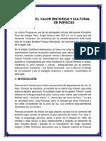 La Cultura Paracas Valor Historico y Cultural