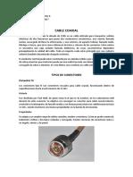 Tipos de Conectores Cable Coaxial