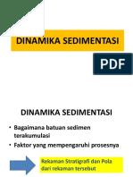 Dinamika Sedimentasi