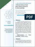 Profecia e Poesia em Pedro Casaldáliga, artigo.