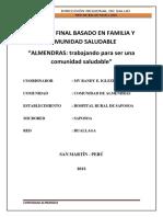 Informe Final Comunidad-Almendras