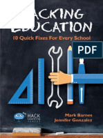 Hacking Education 10 Quick Fixes for Every School by Mark Barnes, Jennifer Gonzalez