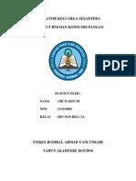 Indikator keluarga menurut IPM dan Konsumsi Pangan.docx