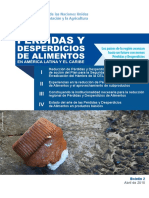 Perdidas y Desperdicios de Alimentos