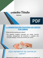 Las Finanzas de Las Cuentas Por Cobrar
