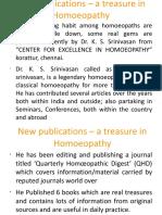 Dr KSS - Publication