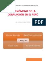 El fenómeno de la corrupción en el Perú
