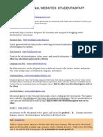 EDUCATIONAL WEBSITES.doc