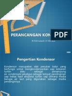 desain Kondensor type shell and tube