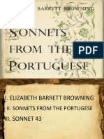 Sonnets From the Portugese