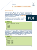 3.- Soluciones de Funciones Matemáticas