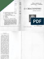 Leonardo Coimbra - Síntese Filosófica